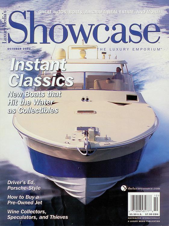 Magazine Cover - Robb Report Magnum 70