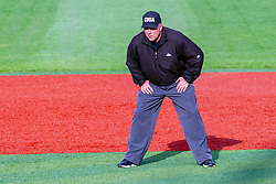 NORMAL, IL - May 01: Mark Huesman during a college baseball game between the ISU Redbirds and the Indiana State Sycamores on May 01 2019 at Duffy Bass Field in Normal, IL. (Photo by Alan Look)