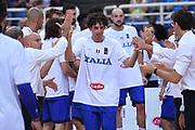 Amedeo Della Valle<br /> Nazionale Italiana Maschile Senior<br /> Torneo dell Acropolis<br /> Italia Serbia Italy Serbia<br /> FIP 2017<br /> Atene, 23/08/2017<br /> Foto M.Ceretti / Ciamillo - Castoria