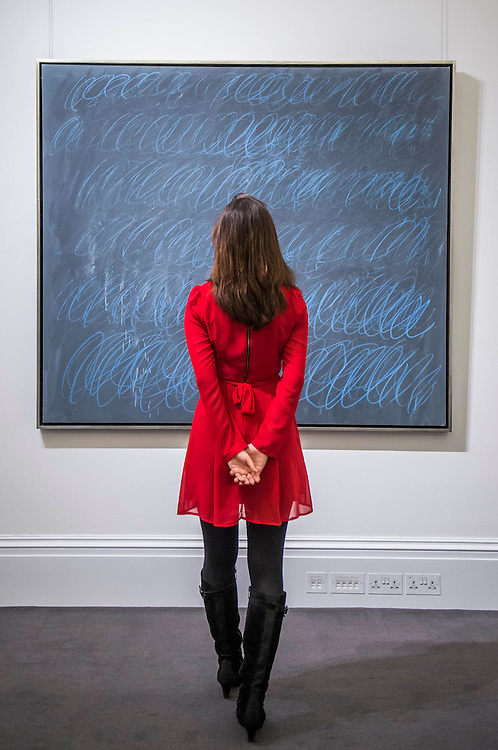 CY TWOMBLY Untitled (New York City), 1968 Est on request - Sotheby's previews New York sales of Impressionist, Modern and Contemporary Art.   London Exhibition Dates 9- 13 April 2016, New York Sale Dates Impressionist & Modern Art Evening Sale: 9 May 2016 and Contemporary Art Evening Auction: 11 May 2016