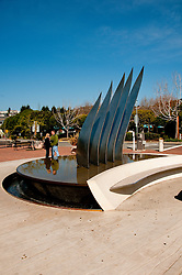 Sculpture, Coming About, Tiburon, California, USA.  Photo copyright Lee Foster.  Photo # california108024
