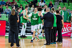 Domen Lorbek of Petrol Olimpija during basketball match between KK Petrol Olimpija and KK Sixt Primorska in Playoffs of Liga Nova KBM, on March 30, 2018 in Arena Stozice, Ljubljana, Slovenia. Photo by Ziga Zupan / Sportida