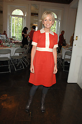Actress LISA MAXWELL at a lunch in aid of African Solutions To African Problems held at Il Bottaccio, 9 Grosvenor Place, London on 20th May 2008.<br /><br />NON EXCLUSIVE - WORLD RIGHTS