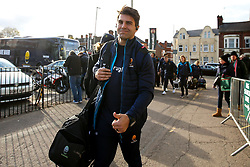 Wynand Olivier of Worcester Warriors arrives at Welford Road - Mandatory by-line: Robbie Stephenson/JMP - 03/11/2018 - RUGBY - Welford Road Stadium - Leicester, England - Leicester Tigers v Worcester Warriors - Gallagher Premiership Rugby