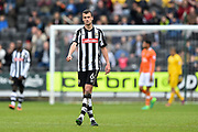 Man of the match Notts County defender Haydn Hollis (6) during the EFL Sky Bet League 2 match between Notts County and Blackpool at Meadow Lane, Nottingham, England on 29 April 2017. Photo by Jon Hobley.