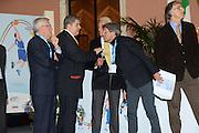 DESCRIZIONE : Roma Basket Day Hall of Fame 2013<br /> GIOCATORE : Mimmo Cacciuni Valerio Bianchini Gianni Ippoliti<br /> SQUADRA : FIP Federazione Italiana Pallacanestro <br /> EVENTO : Basket Day Hall of Fame 2013<br /> GARA : Roma Basket Day Hall of Fame 2013<br /> DATA : 09/12/2013<br /> CATEGORIA : Premiazione<br /> SPORT : Pallacanestro <br /> AUTORE : Agenzia Ciamillo-Castoria/GiulioCiamillo