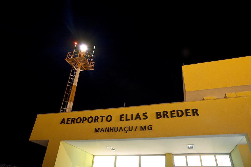 Manhuacu_MG, Brasil...Aeroporto Elias Breder em Manhuacu...Elias Breder airport in Manhuacu...Foto: BRUNO MAGALHAES /  NITRO