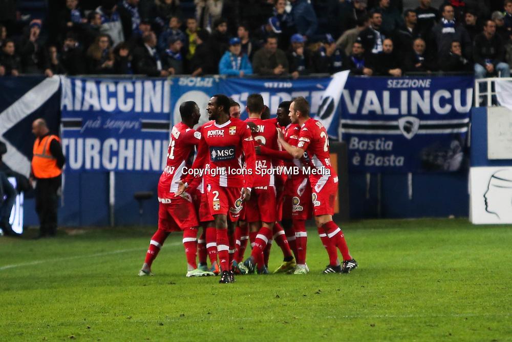 Joie Evian - 03.12.2014 - Bastia / Evian Thonon - 16eme journee de Ligue 1 <br />Photo : Michel Maestracci / Icon Sport
