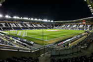 A general view before the Sky Bet Championship match at the iPro Stadium, Derby<br /> Picture by Andy Kearns/Focus Images Ltd 0781 864 4264<br /> 24/02/2016