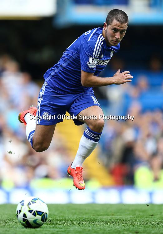 13 September 2014 - Barclays Premier League - Chelsea v Swansea City - Eden Hazard of Chelsea - Photo: Marc Atkins / Offside.