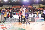Mbakwe Trevor<br /> FIAT Torino - Germani Basket Brescia<br /> Postemobile Final 8 2018<br /> Firenze, 17/02/2018<br /> Foto M.Matta/Ciamillo-Castoria