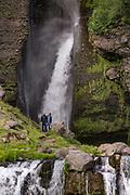 Gluggafoss waterfall taken in Southeast Iceland