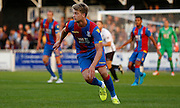Hatrick hero Patrick Bamford in action during the Pre-Season Friendly match between Bromley and Crystal Palace at the Courage Stadium, Bromley, United Kingdom on 30 July 2015. Photo by Michael Hulf.