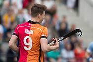 Eindhoven - Oranje Rood - Bloemendaal  Heren, Hoofdklasse Hockey Heren, Seizoen 2017-2018, 15-04-2018, Oranje Rood - Bloemendaal 1-1, Jelle Galema (Oranje Rood)  <br /> <br /> (c) Willem Vernes Fotografie