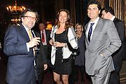 ANDREI NAVROKOV; ALINA NIZROVA; MARWAN CHATILA, Celebration of the  200TH Anniversary of the  Birth of Rt.Hon. John Bright MP  and the publication of <br /> ÔJohn Bright: Statesman, Orator, AgitatorÕ by Bill Cash MP. Reform Club. London. 14 November 2011. <br /> <br />  , -DO NOT ARCHIVE-© Copyright Photograph by Dafydd Jones. 248 Clapham Rd. London SW9 0PZ. Tel 0207 820 0771. www.dafjones.com.<br /> ANDREI NAVROKOV; ALINA NIZROVA; MARWAN CHATILA, Celebration of the  200TH Anniversary of the  Birth of Rt.Hon. John Bright MP  and the publication of <br /> 'John Bright: Statesman, Orator, Agitator' by Bill Cash MP. Reform Club. London. 14 November 2011. <br /> <br />  , -DO NOT ARCHIVE-© Copyright Photograph by Dafydd Jones. 248 Clapham Rd. London SW9 0PZ. Tel 0207 820 0771. www.dafjones.com.