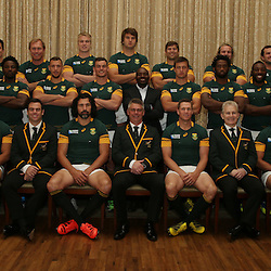 South African Springboks Official team photograph