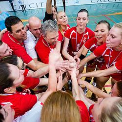 20140405: SLO, Volleyball - Final of 1. DOL, OK Calcit Volleyball vs Nova KBM Branik