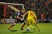 Phillipe Coutinho during the Capital One Cup match between Bournemouth and Liverpool at the Goldsands Stadium, Bournemouth, England on 17 December 2014.