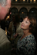 Tessa Jowell, 10th Anniversary of Conde Nast Traveller magazine. Foreign and Comonwealth Office. Durbar Court. 10 September 2007. -DO NOT ARCHIVE-© Copyright Photograph by Dafydd Jones. 248 Clapham Rd. London SW9 0PZ. Tel 0207 820 0771. www.dafjones.com.