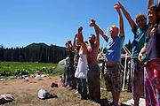 Rainbow Gathering Washington 2011