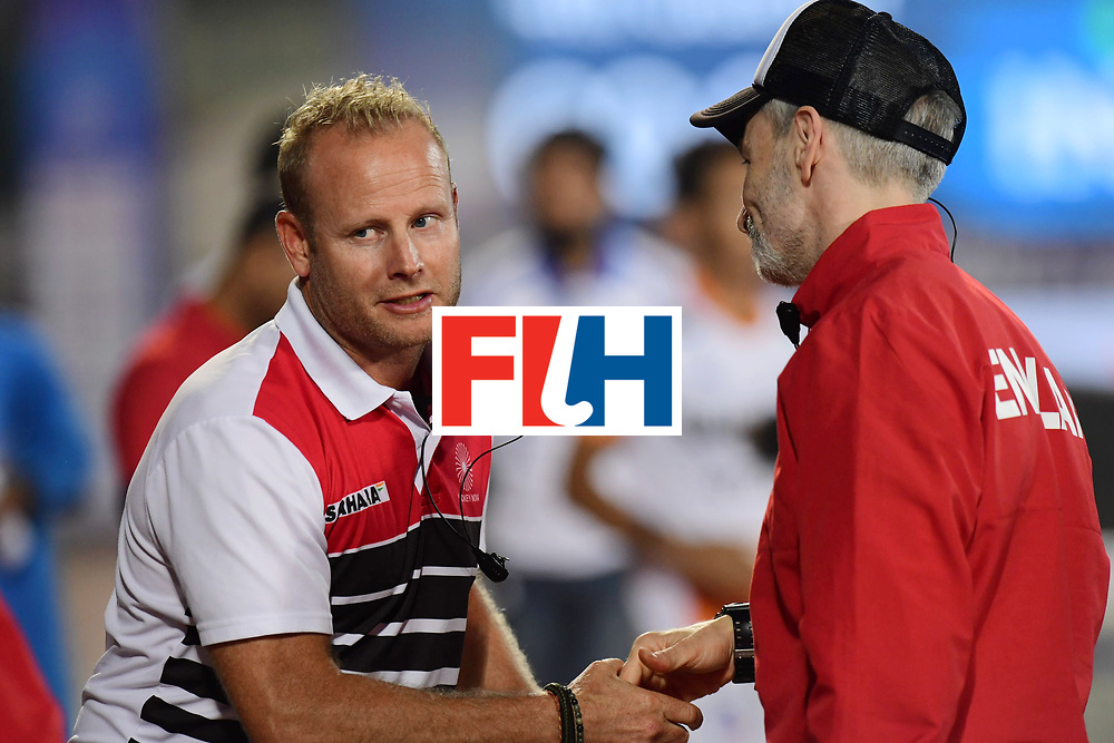 Odisha Men's Hockey World League Final Bhubaneswar 2017<br /> Match id:05<br /> 06 IND v ENG (Pool B)<br /> Foto: Russell Garcia (Eng) and Russell Garcia (Eng).<br /> WORLDSPORTPICS COPYRIGHT FRANK UIJLENBROEK