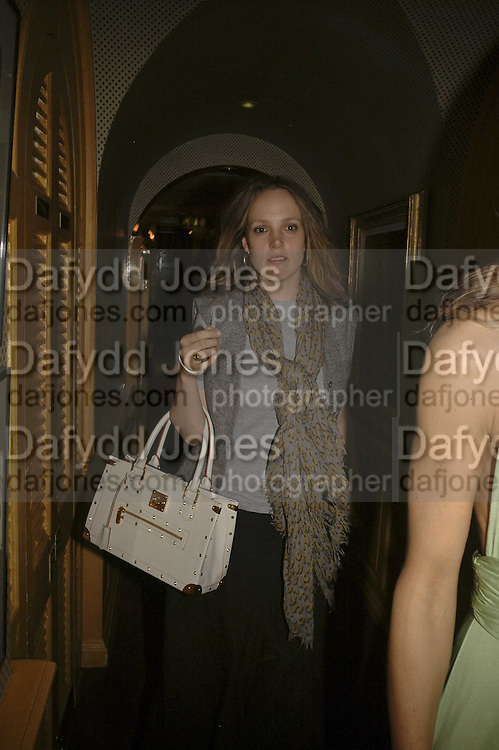 BAY GARNETT, Plum Sykes, book launch party, Annabel's, Berkeley Square, London, W1,10 May 2006.  Matthew Williamson, Catherine Vautrin, Laudomia Pucci host party to celebrate 'The Debutante Divorcee'. ONE TIME USE ONLY - DO NOT ARCHIVE  © Copyright Photograph by Dafydd Jones 66 Stockwell Park Rd. London SW9 0DA Tel 020 7733 0108 www.dafjones.com