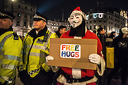 London: Million Mask March, 5 Nov. 2016