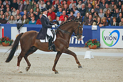Dörr Stephanie - Kimberley<br /> KWPN Hengstenkeuring - 's Hertogenbosch 2008<br /> Photo © Hippo Foto