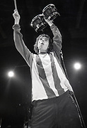 Ian Brown, Happy Mondays performing at Granada TV Studios, Manchester, 1989