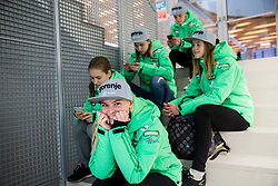 Spela Rogelj during official presentation of the outfits of the Slovenian Ski Teams before new season 2016/17, on October 18, 2016 in Planica, Slovenia. Photo by Vid Ponikvar / Sportida
