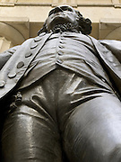 George Washington in front of Federal Hall New York City USA