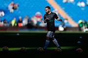Real Madrid's Spanish defender Dani Carvajal warms up before the Spanish championship Liga football match between Real Madrid CF and RC Deportivo on January 21, 2018 at Santiago Bernabeu stadium in Madrid, Spain - Photo Benjamin Cremel / ProSportsImages / DPPI