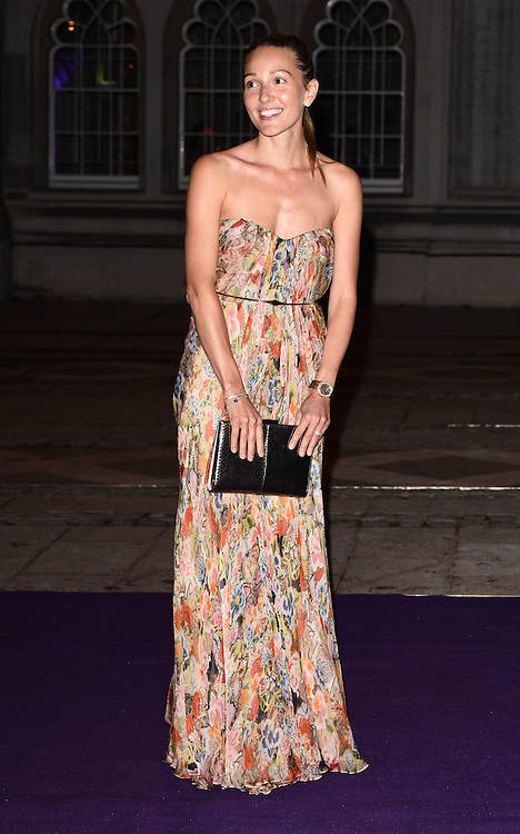 Jelena Djokovic attends the 2015  Wimbledon Champions Dinner at The Guildhall, Gresham Street, London on Sunday 12 July 2015