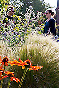 Seattle, Washington: the front yard garden of Chris and Ashley Saleeba has edibles mixed with ornamentals in a clean and modern design (photo: Ann Summa).