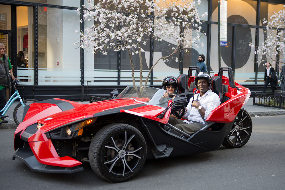 Polaris Slingshot, Noho, April 2018