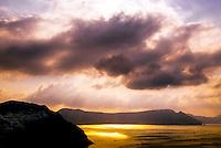 The island of Santorini, the Cyclades, Greece