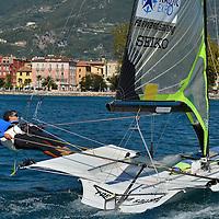 European Championship 49er Riva del Garda 2012