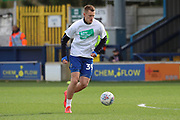 AFC Wimbledon striker Joe Pigott (39) warming up during the EFL Sky Bet League 1 match between AFC Wimbledon and Doncaster Rovers at the Cherry Red Records Stadium, Kingston, England on 9 March 2019.