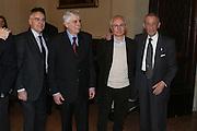 """BOLOGNA, 22/02/2009<br /> FEDERAZIONE ITALIANA PALLACANESTRO PREMIO <br /> PREMIO """"ITALIA BASKET HALL OF FAME""""<br /> NELLA FOTO VITOLO BALDINI VITALE"""
