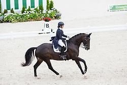 Denise Hallion, (RSA), Wervelwind - Grand Prix Team Competition Dressage - Alltech FEI World Equestrian Games™ 2014 - Normandy, France.<br /> © Hippo Foto Team - Leanjo de Koster<br /> 25/06/14