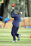 OXNARD, CA - AUGUST 8:  Wide receiver Terrell Owens #81 of the Dallas Cowboys catches a pass while working out with teammates after the Dallas Cowboys training camp on August 8, 2006 in Oxnard, California. ©Paul Anthony Spinelli *** Local Caption *** Terrell Owens