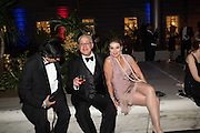 TARIQ ISMAIL; MICHAEL DEL ROSSO; KIM ALEXIS, Great Gatsby(Presidential( Inaugural(Ball, National'Portrait'Gallery'&'Smithsonian'American'Art' Museum,, Inauguration of Donald Trump ,  Washington DC. 20  January 2017