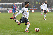 Bolton Wanderers Forward, Zach Clough (10) during the The FA Cup 3rd round match between Bolton Wanderers and Crystal Palace at the Macron Stadium, Bolton, England on 7 January 2017. Photo by Mark Pollitt.