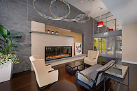 Interior image of Monticello Garden Apartments Clubhouse in Falls Church VA by Jeffrey Sauers of Commercial Photographics, Architectural Photo Artistry in Washington DC, Virginia to Florida and PA to New England