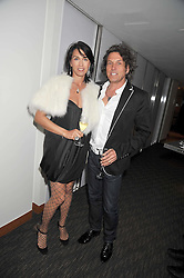 STEPHEN & ASSIA WEBSTER at a dinner hosted by Ruinart Champagne for Yasmin Mills at Nobu, Park Lane, London on rth May 2009.