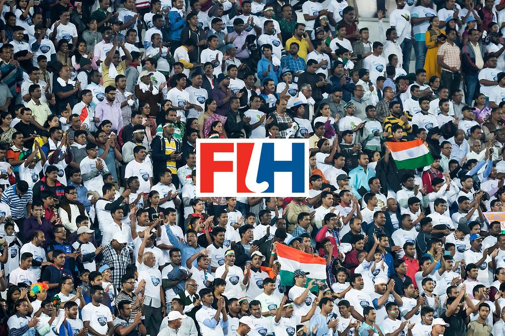 BHUBANESWAR - Public, stands . Hockey World League finals Match for bronze , Germany v India (1-2). COPYRIGHT KOEN SUYK