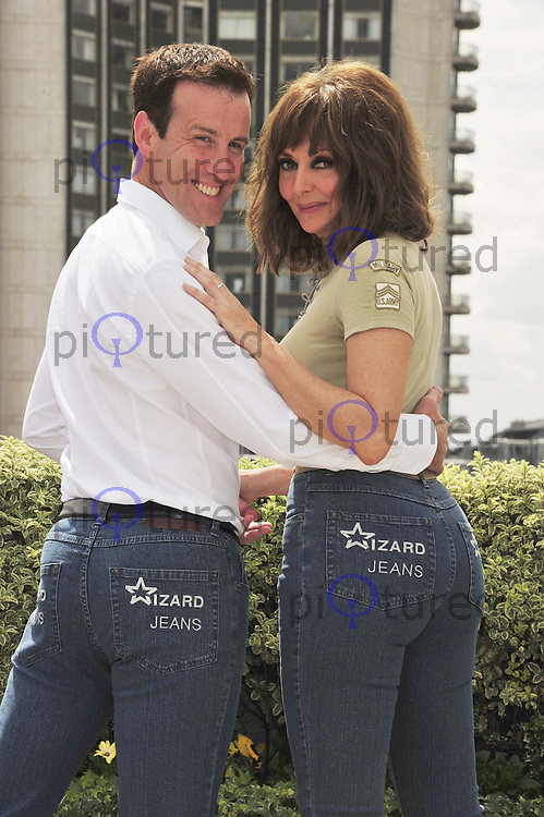 Anton du Beke and Carol Vorderman win Wizard Jeans Rear Of The Year Award 2011, Dorchester Hotel, London, UK, 08 June 2011:  Contact: Rich@Piqtured.com +44(0)7941 079620 (Picture by Alan Roxborough)