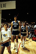 Europei Francia 1983 - Nantes: Sfilata premiazioni in primo piano Dino Meneghin