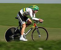 Radsport Weltmeisterschaft 2006 in Salzburg Einzelzeitfahren der Herren Michael Rogers (AUS) in Aktion