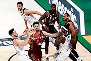 ILCE-9M2 • FE 400mm F2.8 GM OSS<br /> f/4.5 • ISO 3200 • 1/1250<br /> <br /> WattMitchell <br /> Umana Reyer Venezia - Happy Casa Brindisi<br /> LBA Final Eight 2020 Zurich Connect - Finale<br /> Basket Serie A LBA 2019/2020<br /> Pesaro, Italia - 16 February 2020<br /> Foto Mattia Ozbot / CiamilloCastoria
